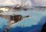 Błękitna laguna i elektrownia geotermalna