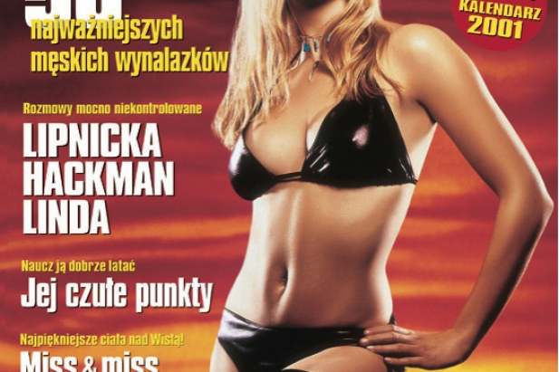 Polka zdobywa Hollywood: Iza Miko w CKM. Okładka CKM - styczeń 2001.