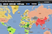 Penisowa mapa świata
