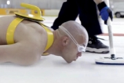 Ludzki curling!
