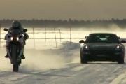 Porsche vs. Yamaha - pojedynek na lodzie