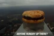 Hamburger w kosmosie!