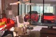 Lamborghini w sypialni