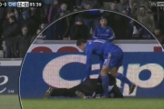 Piłkarz skopał chłopca