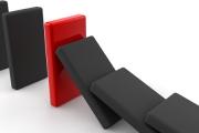 Domino z 10 tys. iPhone`ów 5