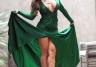 Carmen Ortega w wieczorowej sukni