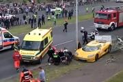 Wypadek na Gran Turismo Polonia w Poznaniu
