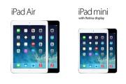 iPad Air i iPad mini Retina - ceny + specyfikacje