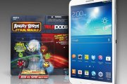 Tablet Samsung + Angry Birds: Star Wars