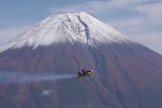 Jetman przeleciał na wulkanem