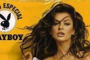 Siwiec na okładce brazylisjkiego Playboya