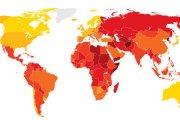 Najbardziej skorumpowane kraje świata (MAPA)
