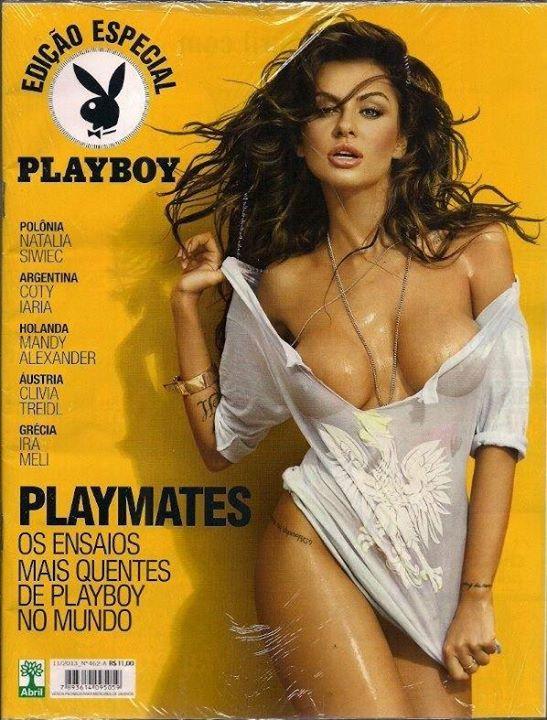 Natalia Siwiec w brazylijskim Playboyu