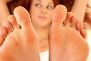 Orgazmy przez stopę