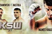 Pudzianowski vs Nastula na KSW 29!