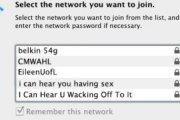 Najśmieszniejsze nazwy sieci WiFi