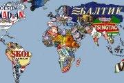 Piwna mapa świata