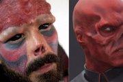 Odcięty nos - Red Skull w realu