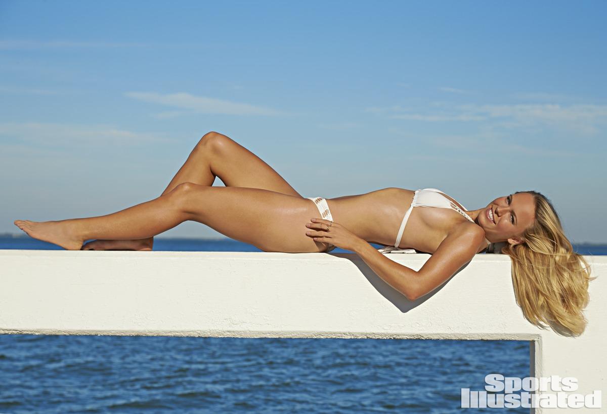 Caroline Wozniacki Sports Illustrated Swimsuit Issue 2015