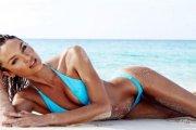 Candice Swanepoel w bikini Paola & Murray 2015