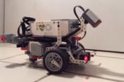 Mózg robaka w robocie z klocków Lego!