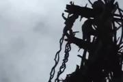 Afrykański skok na bungee