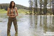 Jessica Gomes - seksowne ujęcia w SI 2015