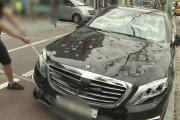 Demolka Mercedesa za 640 tys. zł