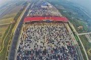 Korek gigant w Chinach