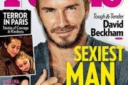 David Beckham - najseksowniejszy żyjący mężczyzna