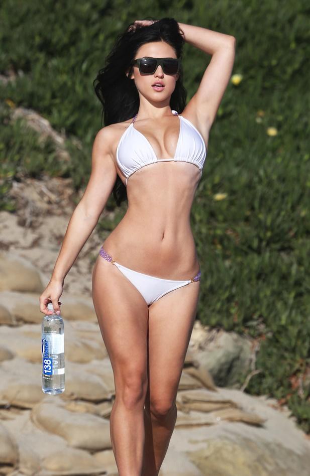 Stefanie Knight - króliczek Playboya w bikini