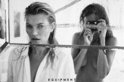 Kate Moss i Daria Werbowy w kampanii Equipment 2016
