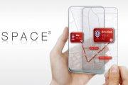 Space 3 - telefon z dwoma przeźroczystymi ekranami
