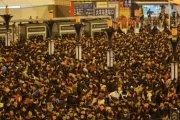 170 tys. podróżnych utknęło na chińskim dworcu