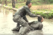 Morderczy trening chińskiej policji, czas się bać