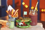 Najzdrowszy burger świata