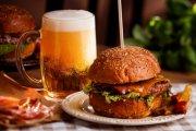 Piwo o smaku burgera