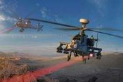 Helikoptery będą strzelać laserami