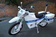 Elektryczny motocykl Kałasznikowa