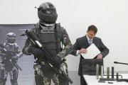 Rosyjski strój bojowy odporny na wybuchy nuklearne