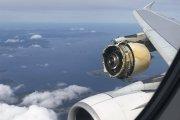Wybuch silnika Airbusa nad Atlantykiem