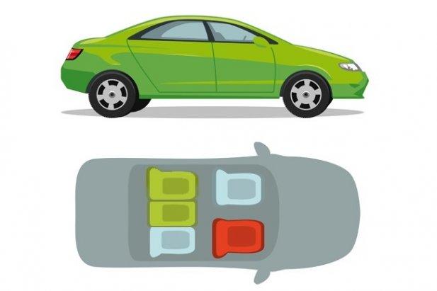 Najbezpieczniejsze miejsce są zawsze z tyłu, za kierowcą. W końcu w razie wypadku, mimo heroicznych zapewnień, kierowca zawsze będzie się starał uchronić najpierw siebie. Tak po prostu działa instynkt. Poza tym przy czołówce znajdziecie się daleko od głównego miejsca zderzenia.