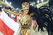 Piękna Polka gwiazdą karnawału w Rio de Janeiro