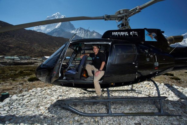 Historie pilotów ratujących himalaistów
