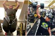 Sylvester Stallone znów zadziwia na siłowni