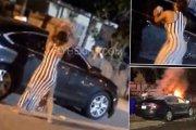 Uważaj na zdradzoną kobietę – ta podpaliła samochód swojego byłego