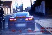 Kierowca Corvette przekroczył prędkość – podziękował policjantom za zatrzymanie
