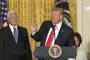 """Donald Trump odleciał – zapowiedział stworzenie amerykańskich """"sił kosmicznych"""""""