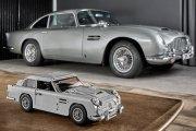 Aston Martin DB5 Bonda w wersji Lego