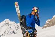 Andrzej Bargiel zjechał na nartach z K2